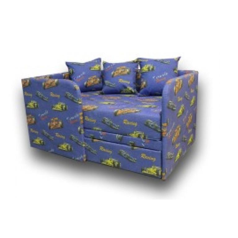 """Детский диван """"Прайм"""" одна подушка в комплекте"""